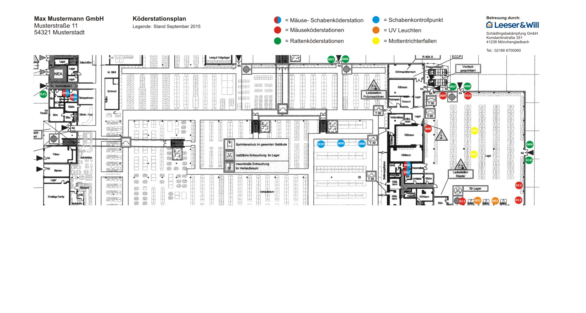 Präventionsmaßnahmen und Monitoring schützen Ihren Betrieb. - Leeser & Will Schädlingsbekämpfung München betreut durch ready4marketing.de